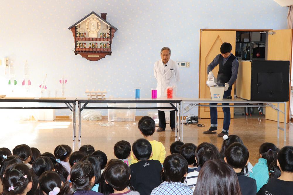 科学実験ショー